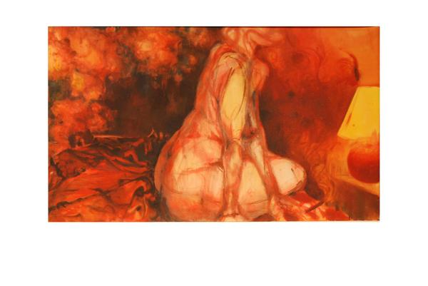 Red Lamp, Study 2