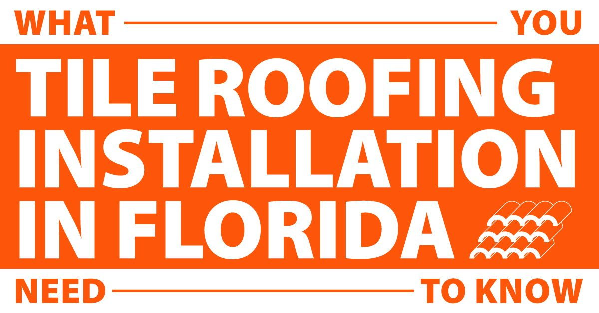 tile roof installation in florida