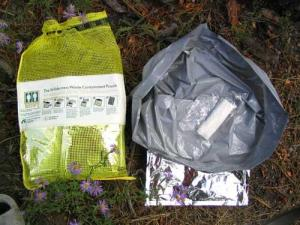 Restop 2 Wilderness Waste Containment Pouch