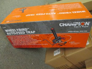 Champion Wheelybird Auto-Feed Trap