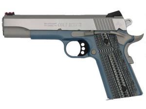 Colt Competition 1911 Series 70 - Blue Titanium Finished Frame