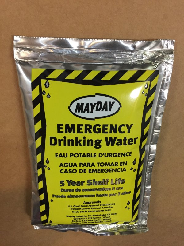 MayDay Emergency Drinking Water Pouches