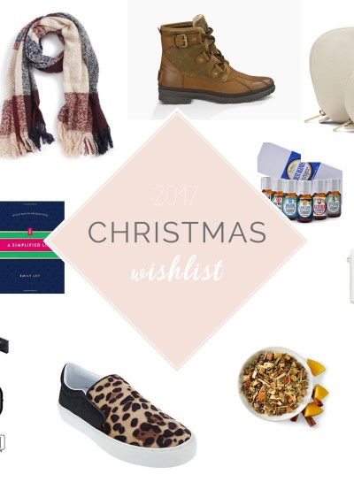My Christmas Wishlist 2017