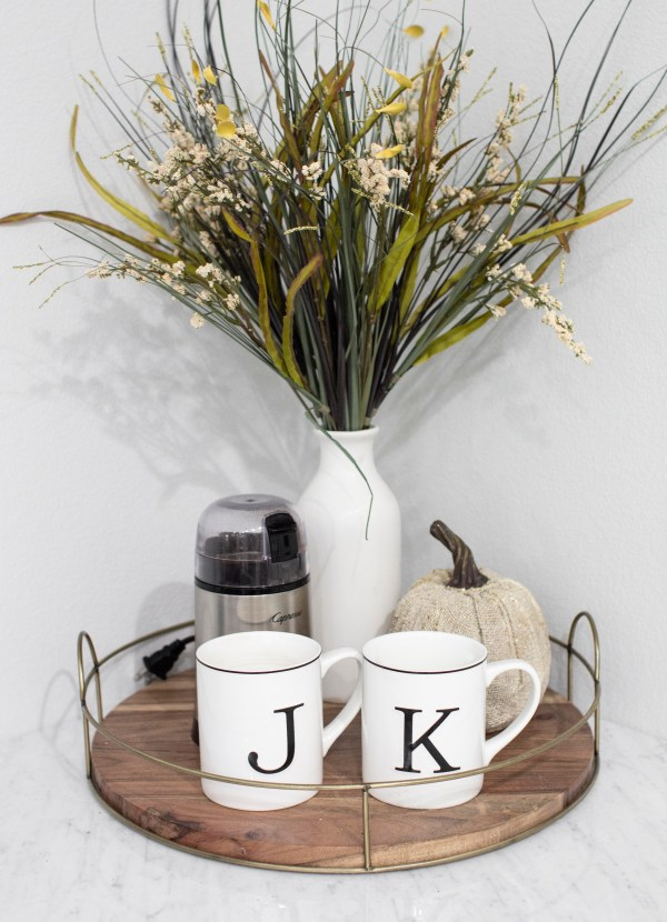 fall autumn dining room kitchen decor