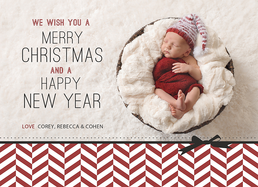 Norman Oklahoma Newborn Photographer Merry Christmas