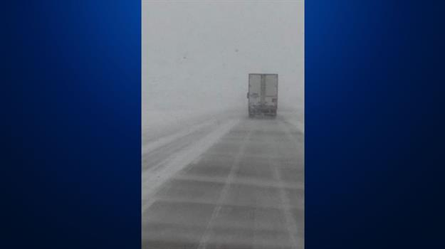 Slippery Road Conditions In Parts Of KELOLAND