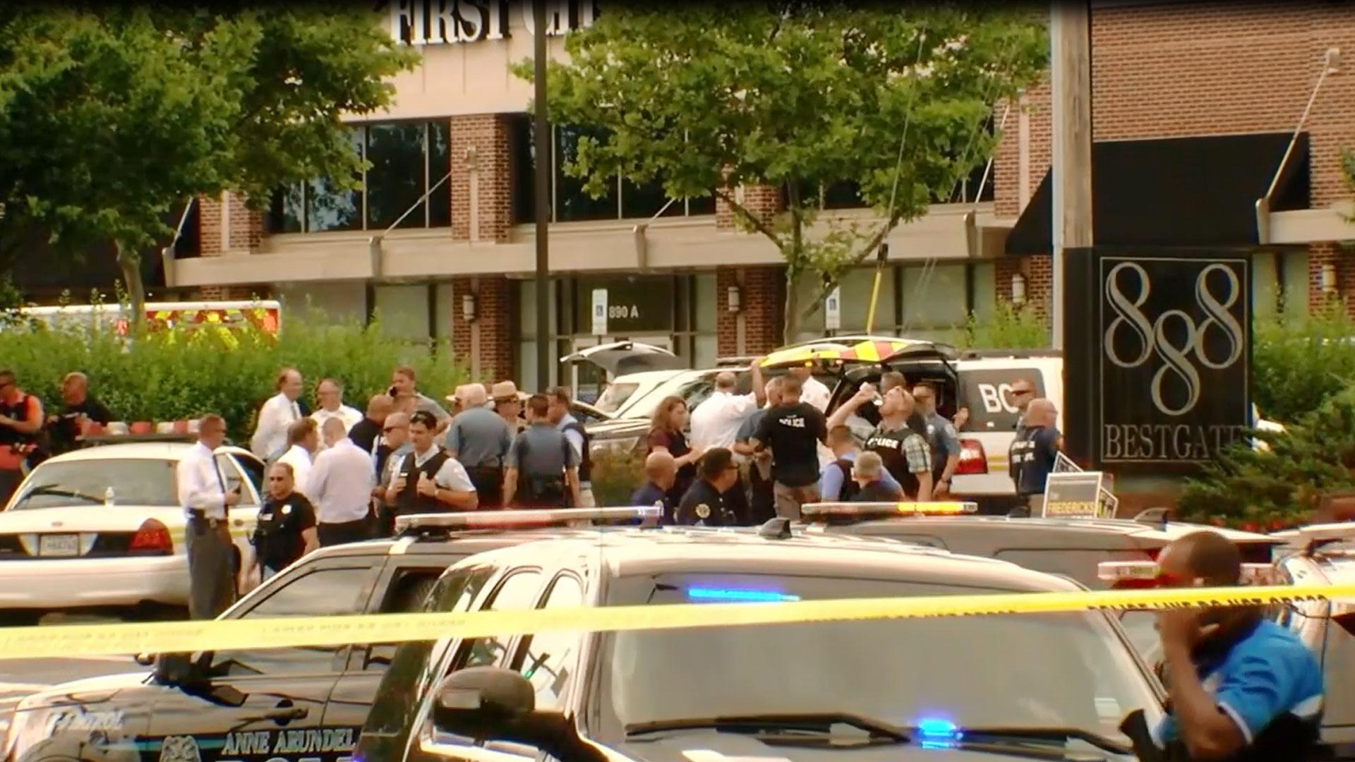 KELO The Capital Gazette Annapolis Shooting