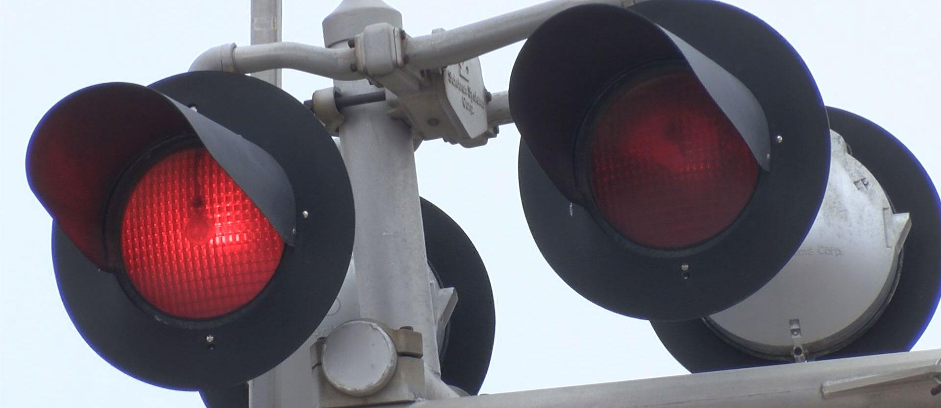 KELO railroad signal light