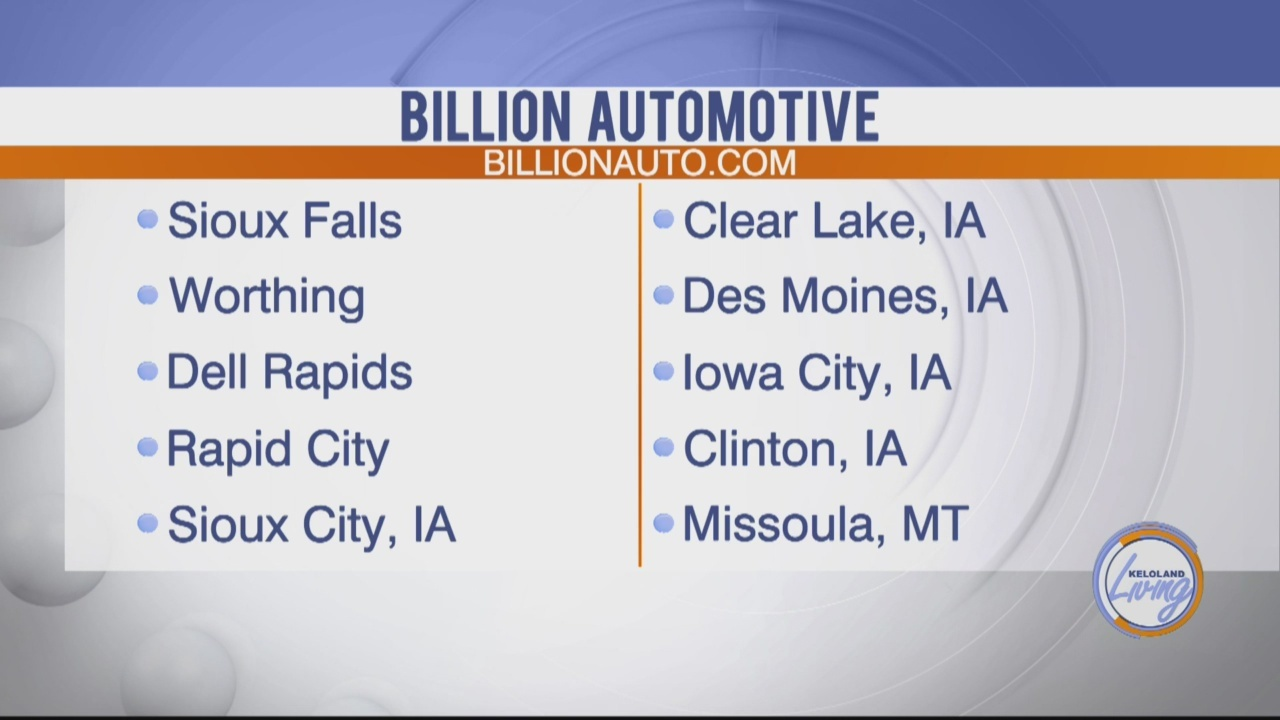 Billion Auto Sioux Falls >> Billion Automotive Largest Online Inventory In The Midwest