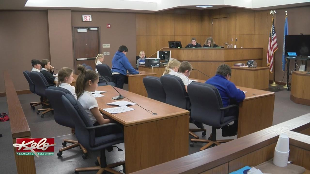 Kids Take Over Minnehaha County Court