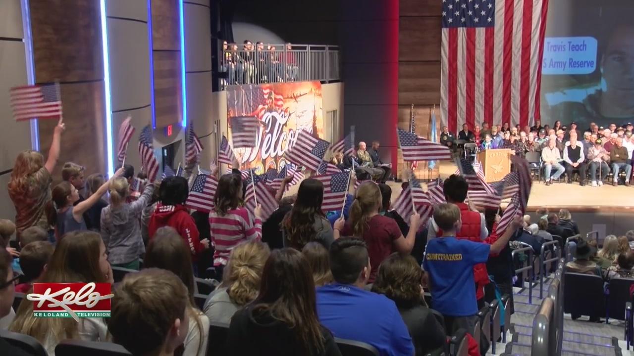Canton Community Celebrates Veterans