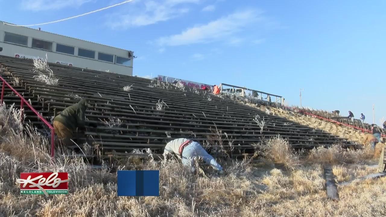 Volunteers Help I-90 Speedway Get Ready To Reopen