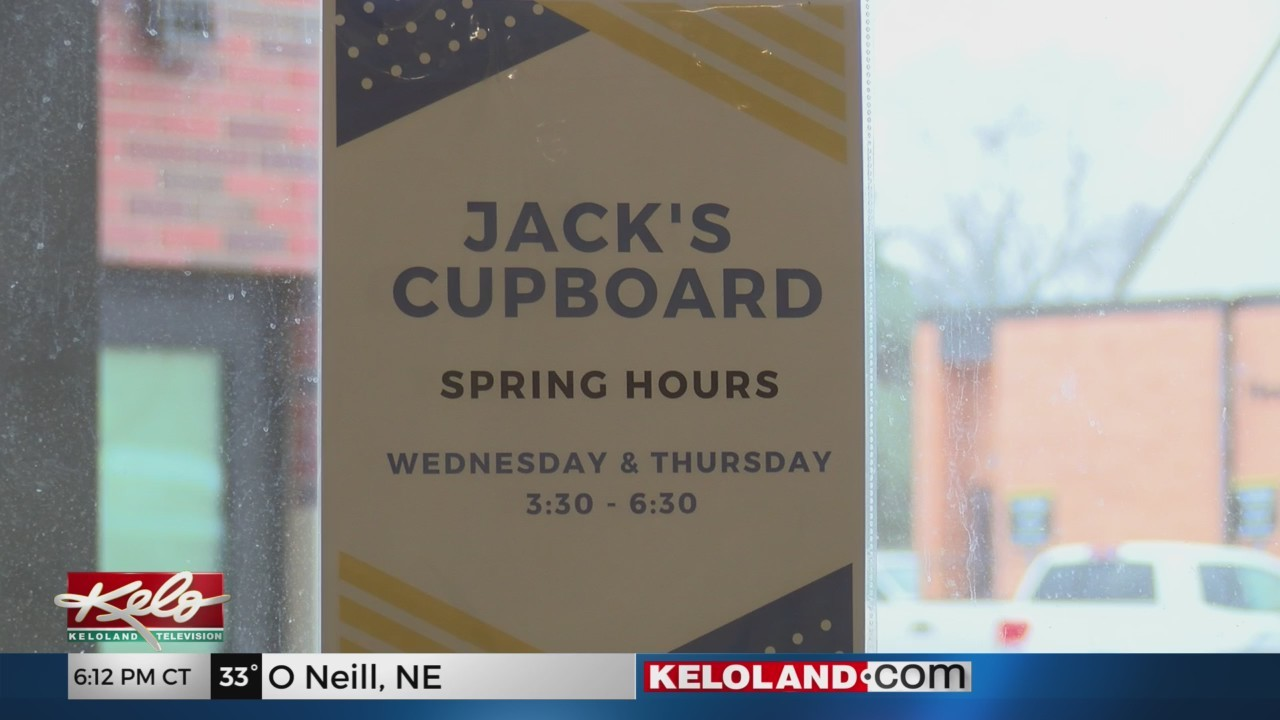 Jack's Cupboard Offers Food For Students At SDSU
