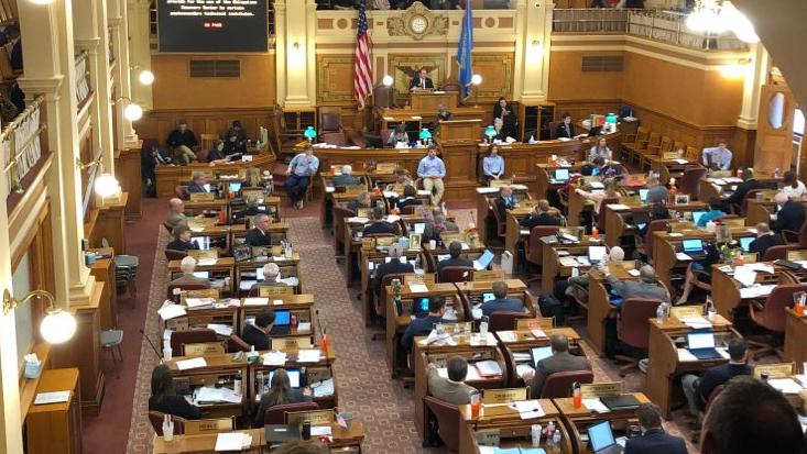 KELO South Dakota House Pierre capitol legislature 2019