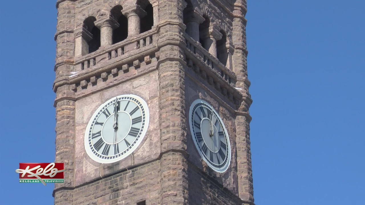 Old Courthouse Museum Clock Running Again