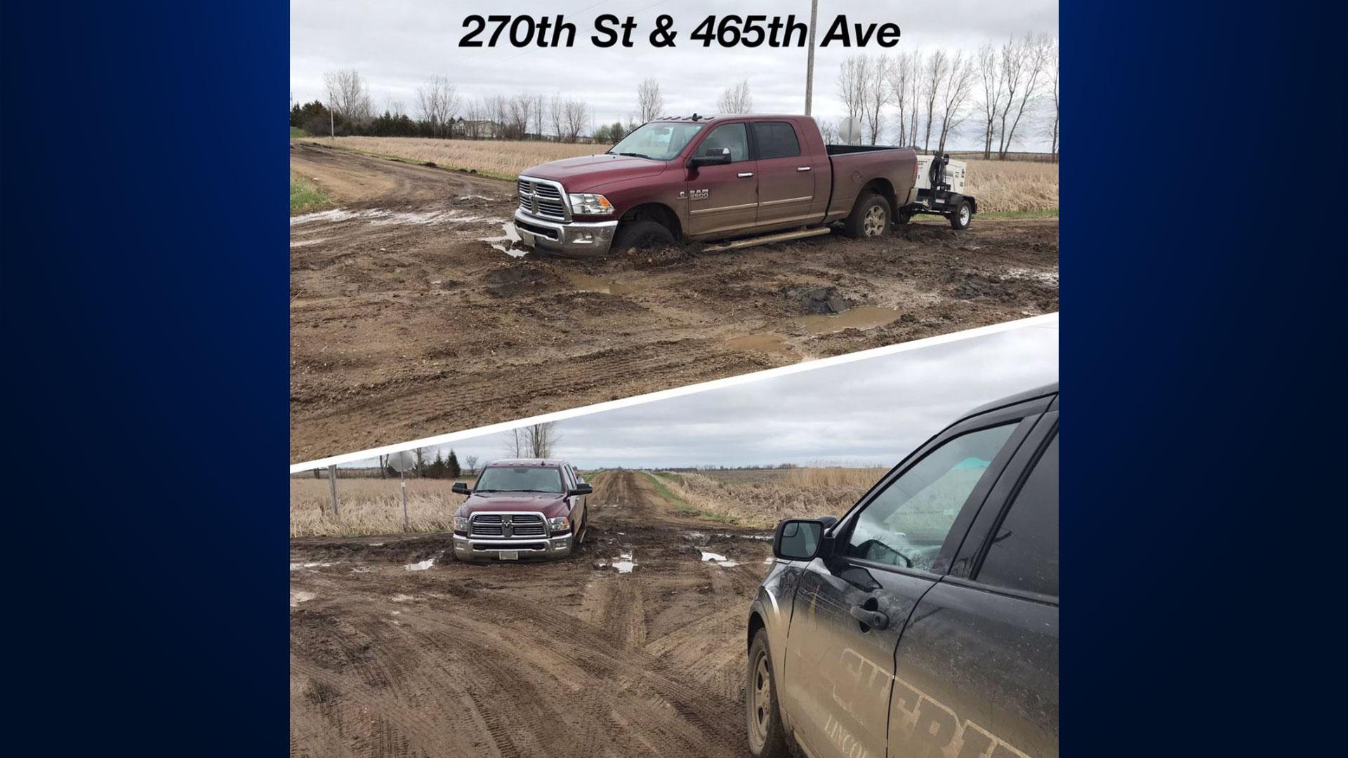 KELO Lincoln County Road muddy