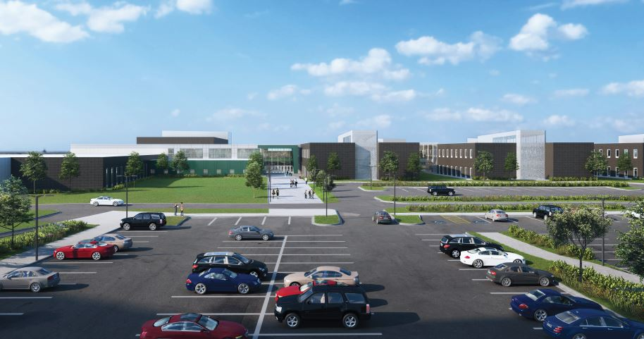 KELO Jefferson High School Rendering