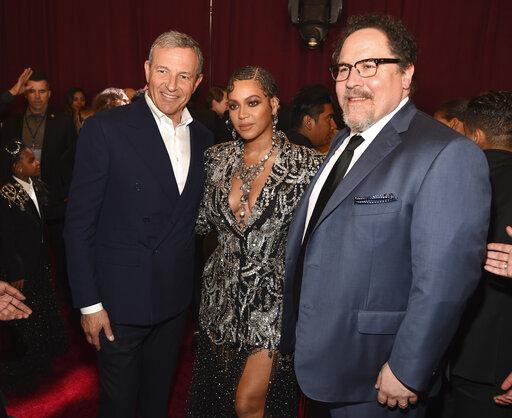 Bob Iger, Beyonce, Jon Favreau