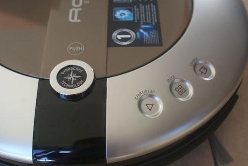 bouton aspirateur robot rowenta