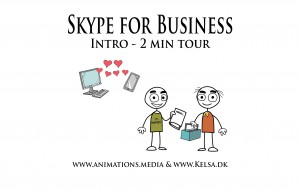 SKYPE For Business Intro Animation