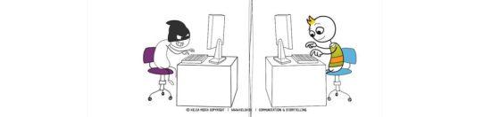 It-sikkerhed i Køge Kommune fra Kelsa Media - humor mod hacking