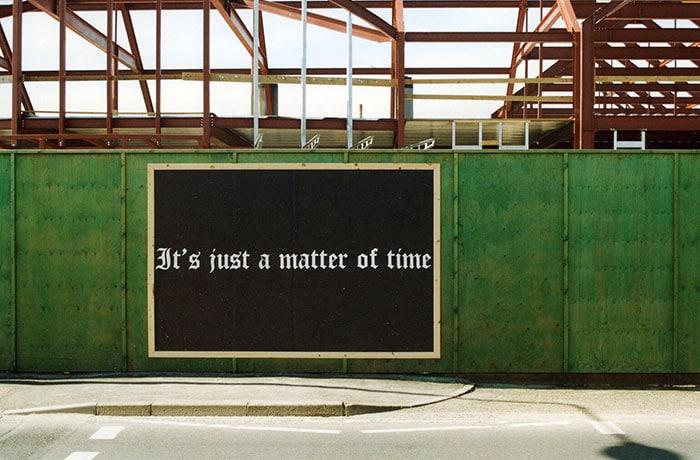 Felix Gonzalez-Torres - It's just a matter of time, Kirkwall, Orkney