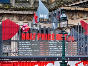 Edinburgh Fringe Festival – Half Price Ticket Hut