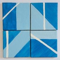 Blue Tile set