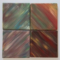 Multi tone tile set