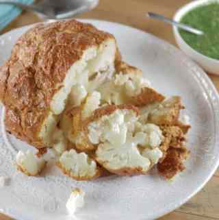 Roasted Tandoori Cauliflower