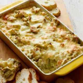 Roasted Artichoke Dip