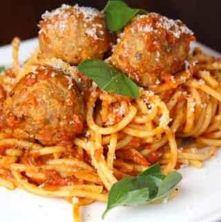 Spaghetti + Meatballs