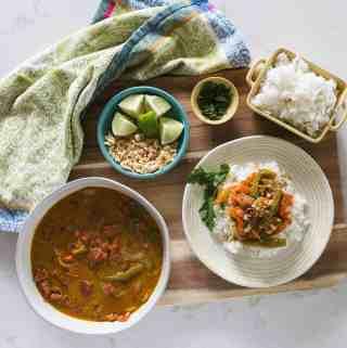 Instant Pot Thai Coconut Shrimp Curry
