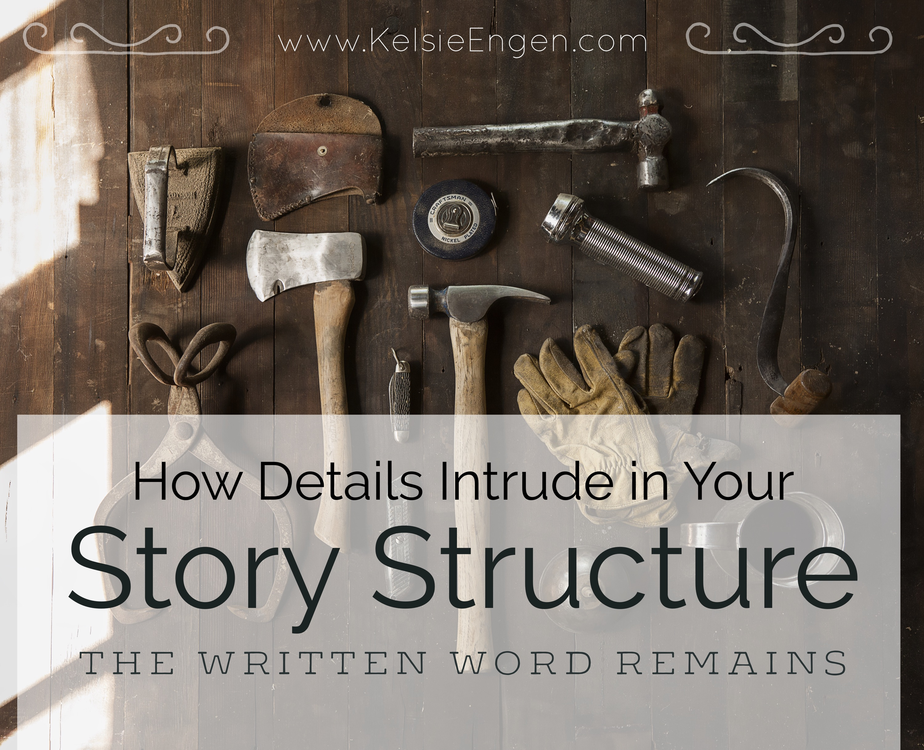 How Details Intrude in Writing