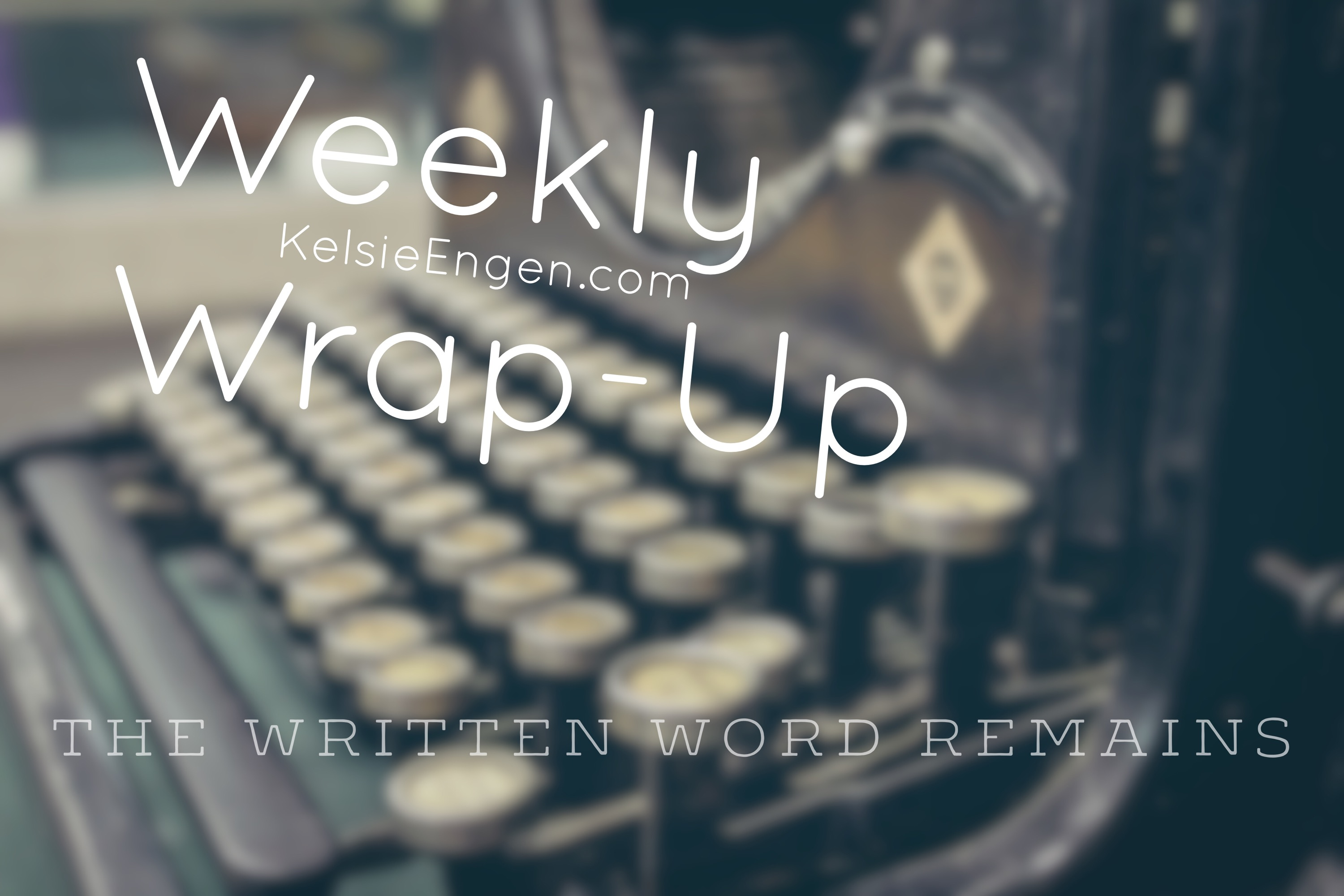 Week 5 Wrap-Up