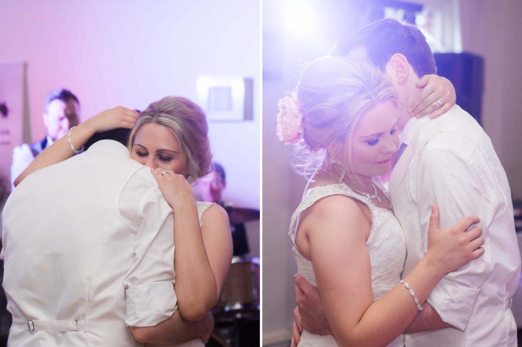 Quarry Bank Mill wedding reception first dance - Brighton wedding photography