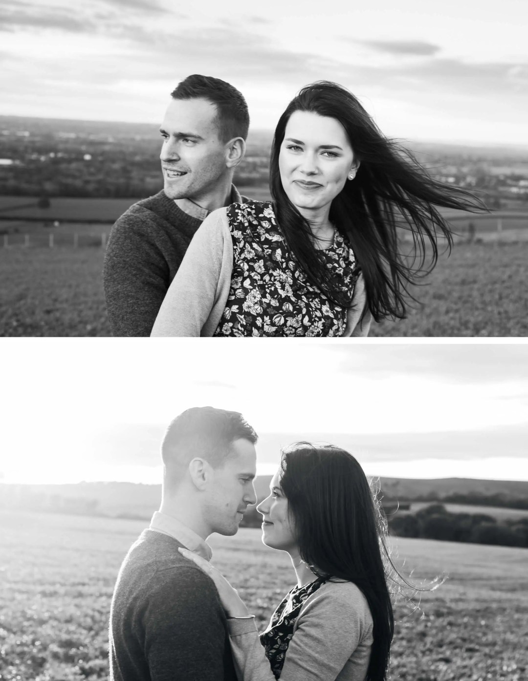 Brighton Engagement Photographer _ West Sussex engagement photoshoot near Hassocks