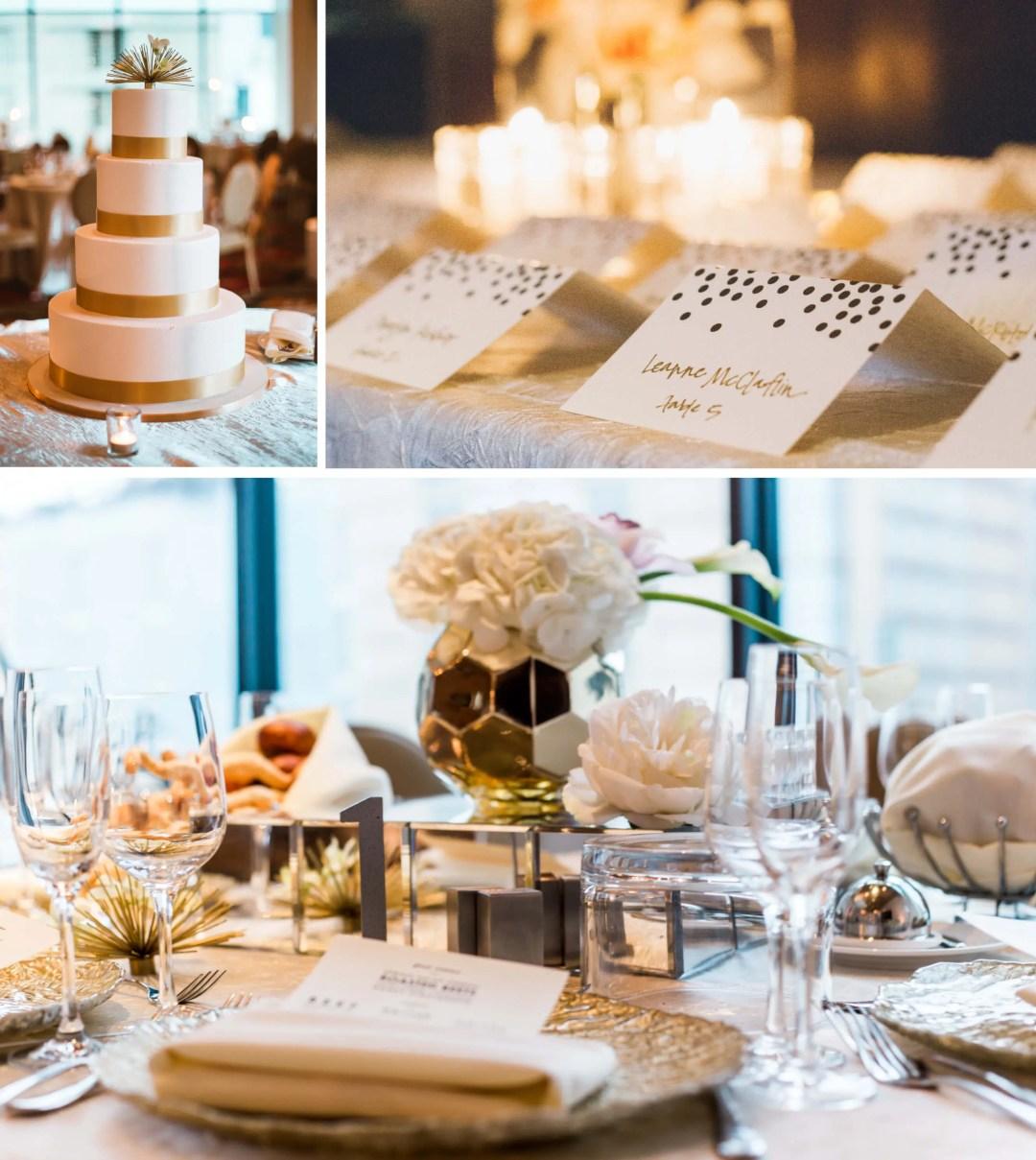 Kimpton Hotel Palomar wedding reception - West Sussex Wedding Photographer