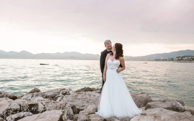 Cannes Destination Wedding at La Mairie | Sarah + David