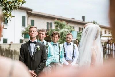 Fossa Mala Destination Wedding Ceremony Groom Cries When Sees Bride