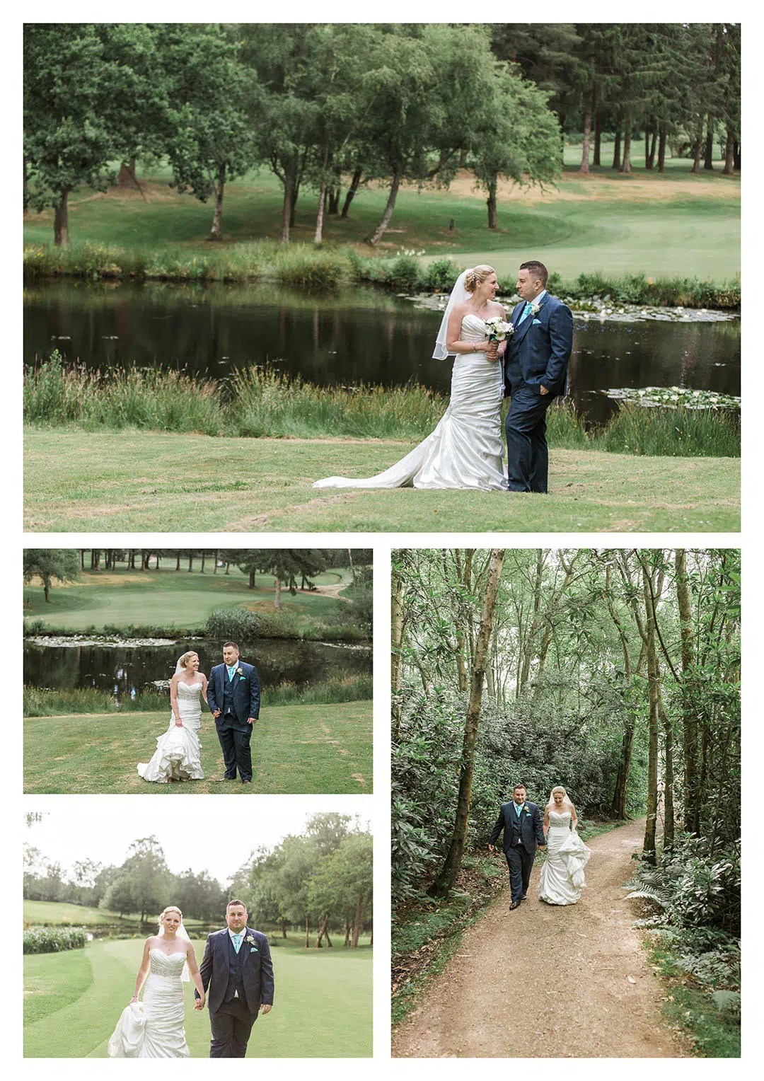 Cottesmore Hotel Golf and Country Club Wedding Couple Portraits Photography