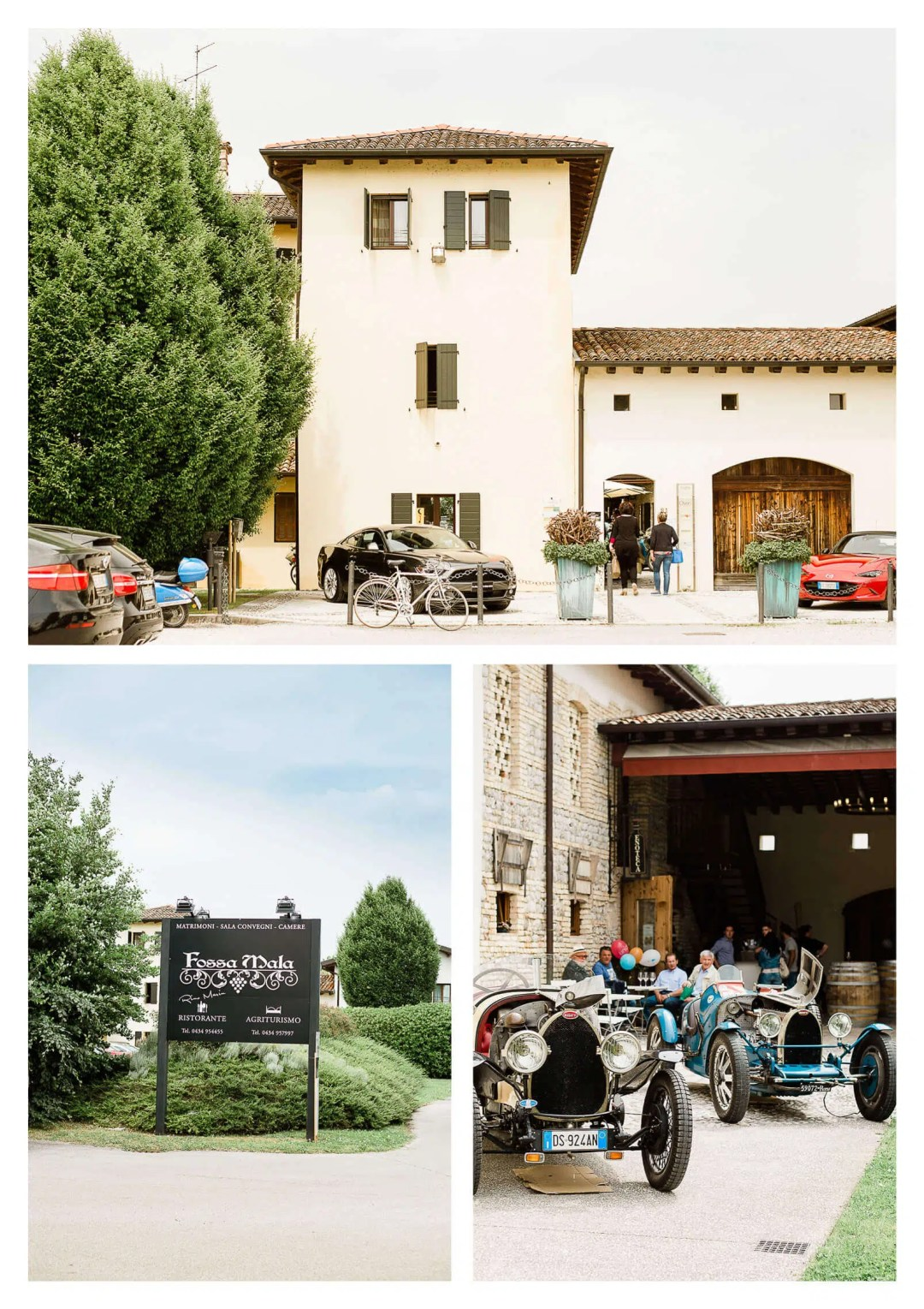Fossa Mala vineyard wedding in Pordenone Italy | Destination wedding photographer
