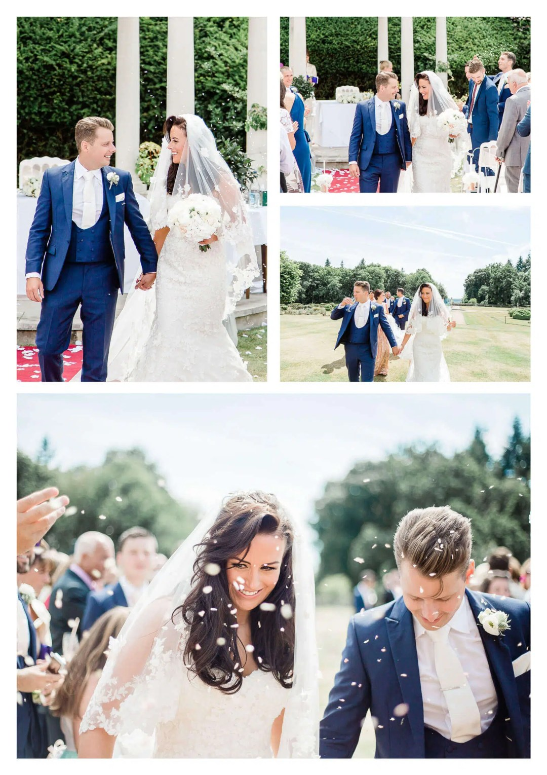 Rhinefield House Hotel outdoor wedding in The New Forest Hampshire wedding photographer