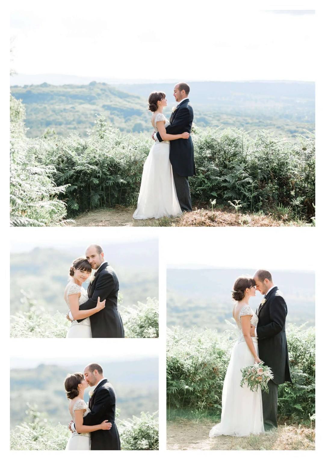South Downs Stedham couple portraits in Chichester   West-Sussex wedding photographer