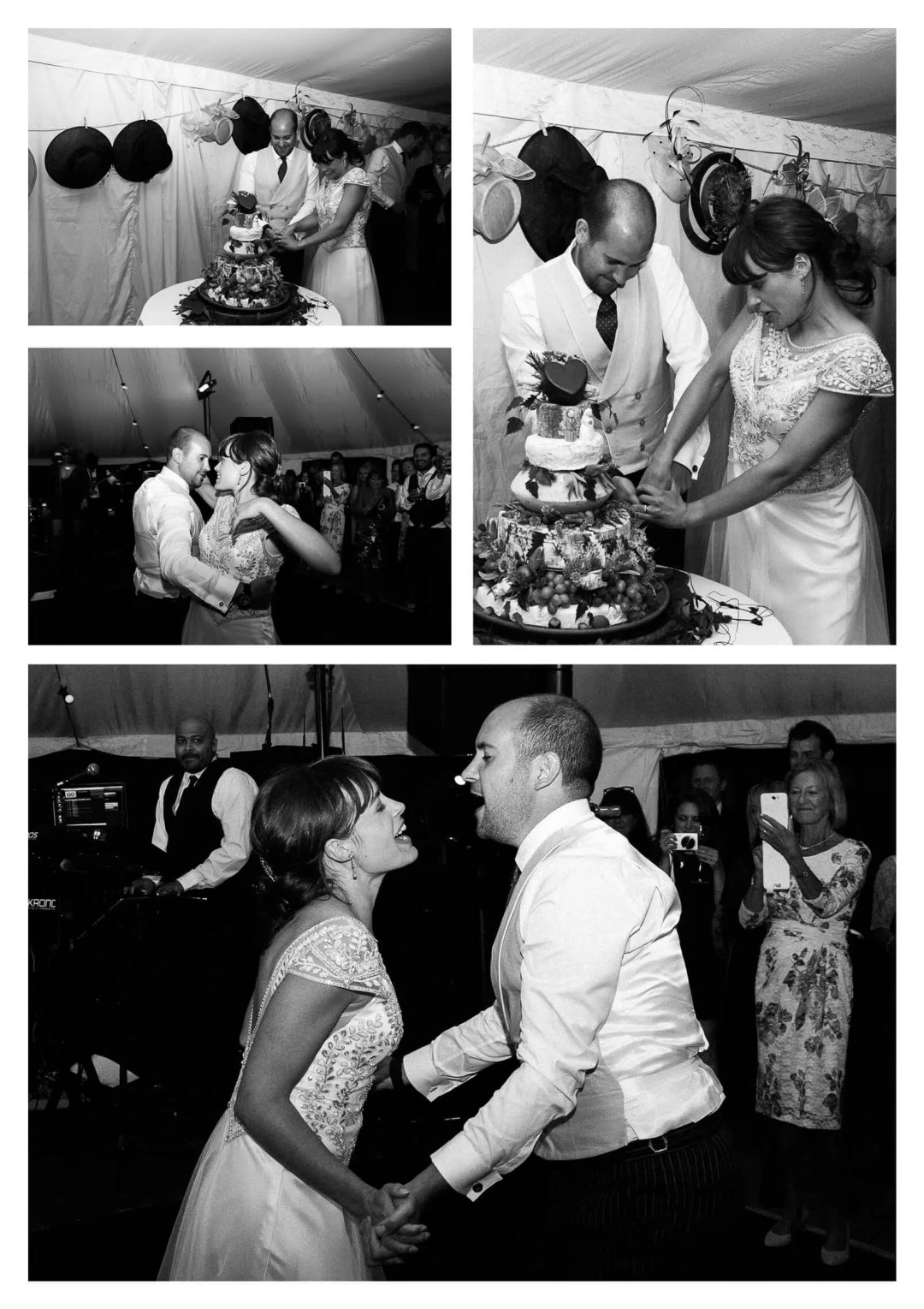 Woolbeding Midhurst marquee estate wedding first dance | West Sussex photographer
