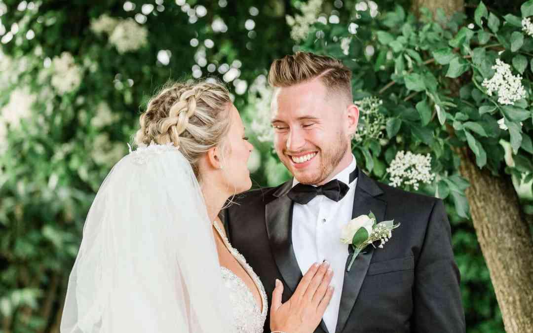 Couple portraits at Zinnia Gardens | wedding photographer_