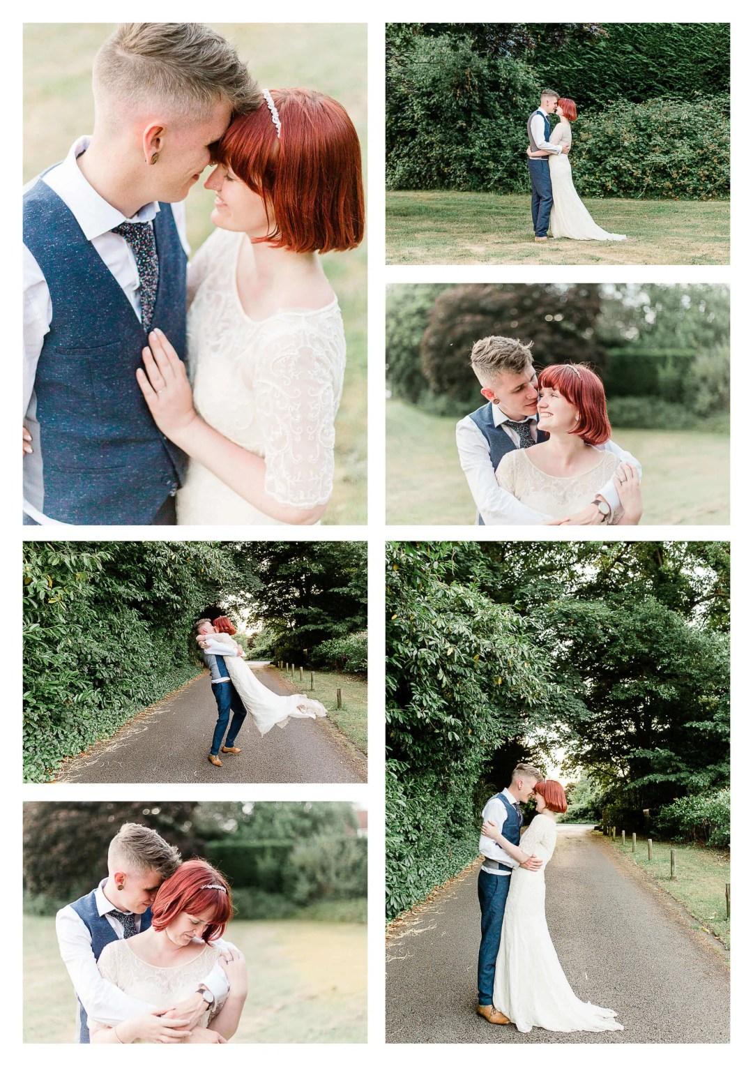 Worplesdon Memorial Hall Couple Portraits | Guildford Wedding Photographer