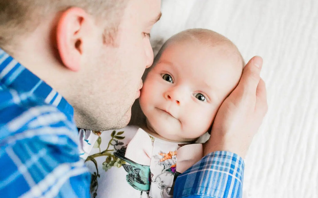 Surrey Newborn Photographer at home lifestyle session