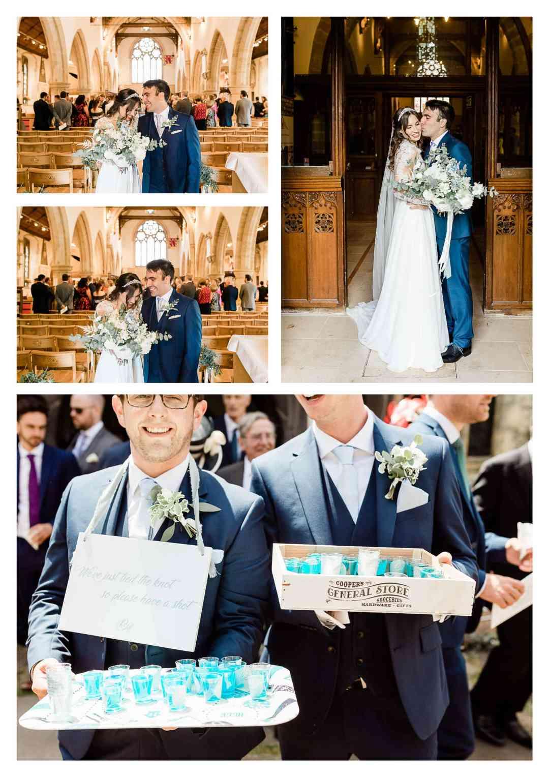 Holy Trinity Church wedding ceremony | Cuckfield wedding photographer