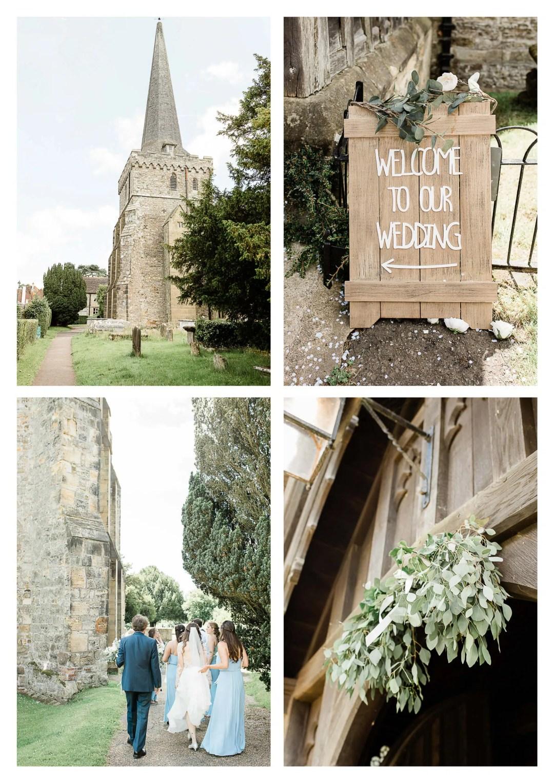 Holy Trinity Church wedding ceremony in Cuckfield | Haywards Heath Photographer
